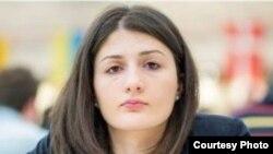 Чемпионка Грузии по шахматам Нино Бациашвили