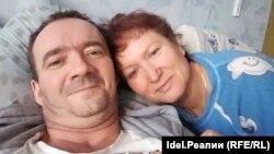 Олег Гандин с супругой
