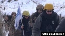 Миссия ОБСЕ проводит мониторинг на линии соприкосновения (архив)