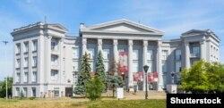 Будівля Національного музею історії України в Києві