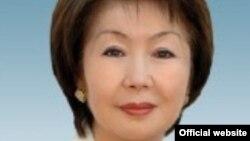 Қазақстан парламенті сенатының депутаты Светлана Жалмағамбетова.