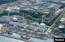 """Вид на АЭС """"Фукусима"""" 31 августа 2013 года."""