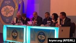 Другий Всесвітній конгрес кримських татар. Президія. 1 серпня 2015 року