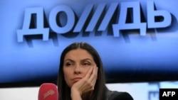 Наталья Синдеева на своем телеканале