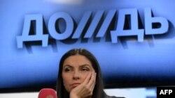 """Генеральный директор телеканала """"Дождь"""" Наталья Синдеева"""