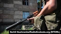 Військові Збройних сил неподалік Золотого-4, Луганської області, 10 червня 2019 року