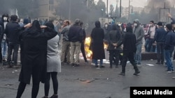 The November protests started after the government raised fuel prices.