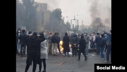 Anti-government protests of November 2019 in Iran. FILE PHOTO