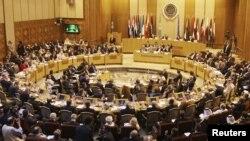 إجتماع في مقر جامعة الدول العربية
