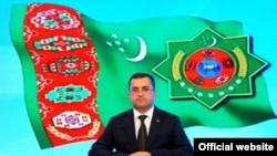 Türkmenistanyň nebit-gaz senagaty ministriniň wezipesini ýerine ýetiriji Kakageldi Abdyllaýew.