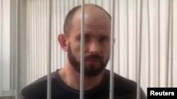 Дмитро Садовник у залі суду в Києві, 5 вересня 2014 року