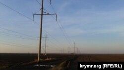 Линии электропередач в Херсонской области