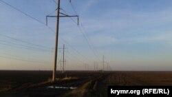 Linjat e largpërçuesve të rrymës elektrike për në Krime