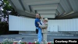 Находящиеся сейчас в заключении азербайджанские активисты Лейла Юнус и Ариф Юнус.