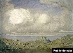 Картина Максиміліана Волошина «Пейзаж»