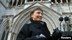 Марина Литвиненко, супруга отравленного в Лондоне Александра Литвиненко
