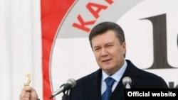 Віктор Янукович під час робочої поїздки до Івано-Франківської області,