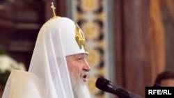 Russian Orthodox Patriarch Kirill (file photo)