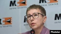 Исполнительный директор «Фондов открытого общества - Армения» Лариса Минасян (архив)