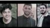 از راست به چپ: امیرحسین مرادی، محمد رجبی و سعید تمجیدی