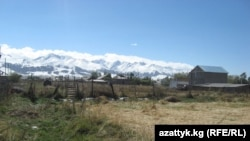 A scene of some of Kyrgyzstan's mountains in the Atbashy district (file photo)