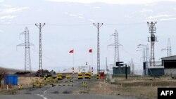 Turkey -- Dogu Kapi border gate to Armenia, in Kars, Akyaka province, 15Apr2009