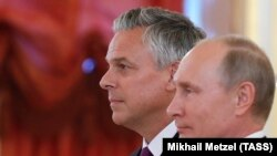 Джон Хантсман та Володимир Путін