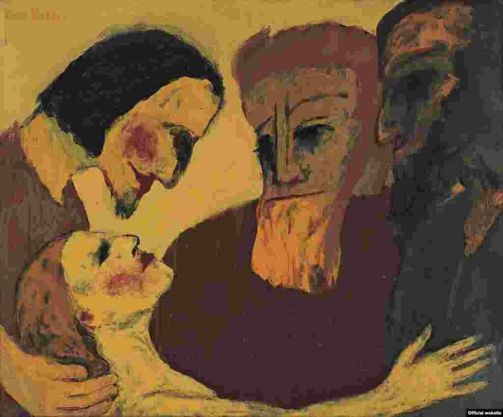 Emil Nolde, Păcătosul (1926).