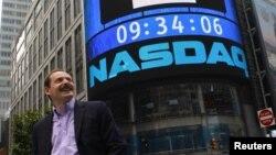 Nazdaq қор биржасы. Нью-Йорк, АҚШ