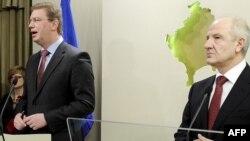 Štefan File i kosovski predsednik Fatmir Sejdiu danas u Prištini