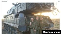 Rossiyaning 53-zenit-raketa brigadasi harbiylari.