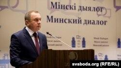 Міністар замежных спраў Беларусі Ўладзімер Макей