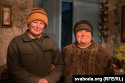 Людміла Надольская (зьлева) і Ганна Каляга