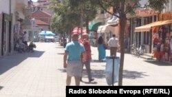 Туристичка сезона во Охрид.
