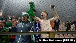 İrlandiyalı azarkeşlər. Foto arxiv