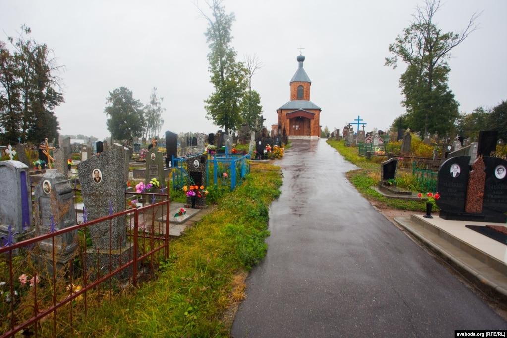 На гэтых могілках пахаваныя бацька, бабуля, браты і сёстры Кастуся Каліноўскага