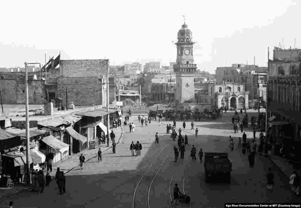 Aleppo's clock tower, photographed in 1937. In 1923, Syria fell under control of the French. Their unpopular rule was marked by near-constant repression of Arab nationalism. One of the methods for keeping the mostly Sunni nationalists in check was to promote minorities, including Alawites, an impoverished mountain people who made up around 12 percent of the Syrian population.
