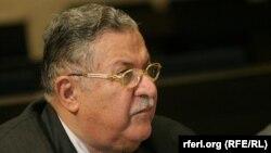 Former Iraqi President Jalal Talabani (file photo)