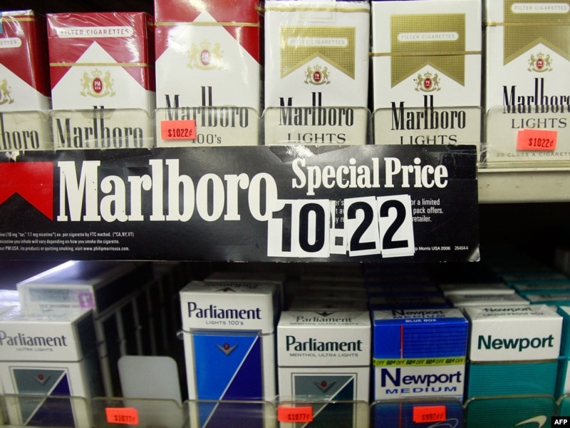 Wholesale cigarettes 555 in NYC