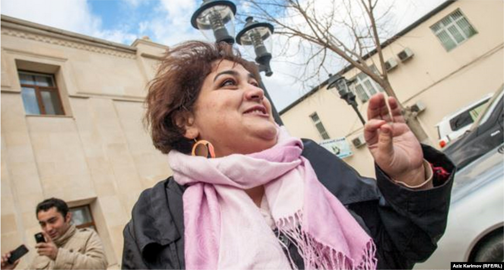 Azerbaijan--Award winning investigative reporter and RFE/RL contributor Khadija Ismayilova has been in jail since Dec. 2014​ ​in what is widely viewed as an act of retribution by Azeri authorities for exposing corruption linked to the country's ruling family.