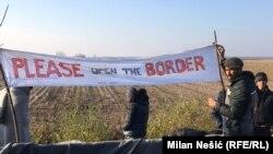 Migranti na granici Hrvatske i Srbije