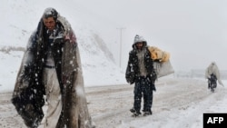 Heavy Snows From The Middle East To Central Asia