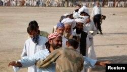 Pakistanda məcburi köçkünlər
