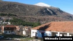 Вид на гору із села Ртань, Сербія