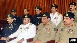 د پاکستان لوړپوړي پوځي چارواکي