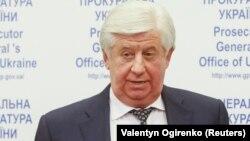 Украинаның отставкаға кеткен бас прокуроры Виктор Шокин.