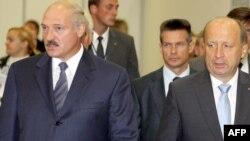 А.Лукашэнка і А.Кубілюс у Вільні, верасень 2009