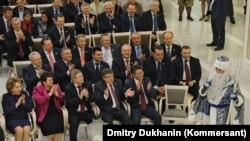 Расейскія дэпутаты адсьвяткавалі пасьля «антымагніцкага закону»