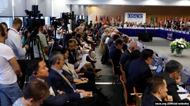 Совещание ОБСЕ по учету человеческого измерения, Варшава, сентябрь 2019 года