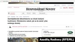 Hospodarske Noviny qəzeti